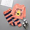 Пижама Тигр (оранж) 80,90,120