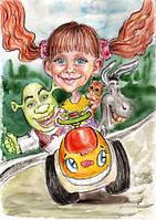 Шаржист на детский праздник