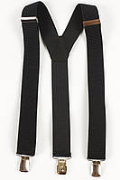 Подтяжки мужские унисекс средние Y35 Top Gal черные цвета в ассортименте