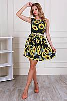 Стильное платье из шелка Армани