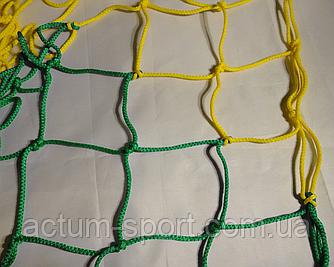 Сетка для футбольных ворот (2 шт.) Премиум