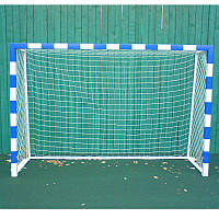 Сетка для ручного мяча простая игровая Шнур 4 мм. Ячейка 100 х 100 мм.
