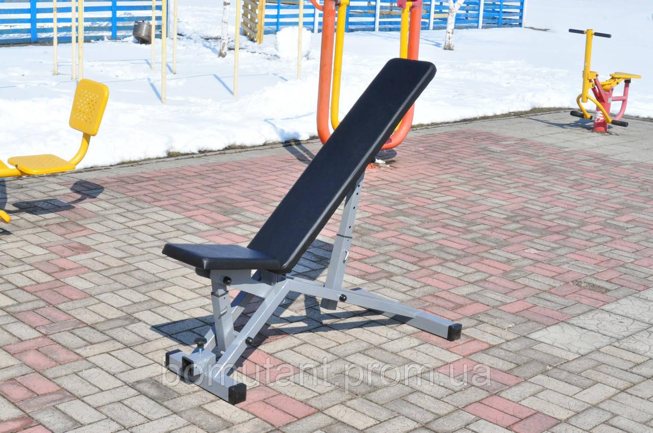 Наклонная скамья для жима лежа, сидя