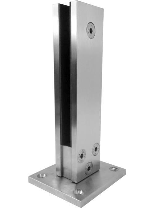 ODF-02-03-01 Стойка для стекла MINI из нержавейки