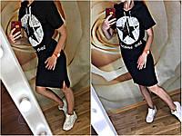 Женское летнее платье с капюшоном 29842