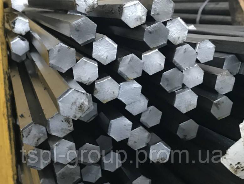 Шестигранник калібрований 41 мм сталь 40Х, h11
