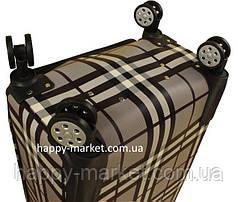 Чемодан ручная кладь дорожный для подроска и взрослых с кодовым замком кожзам Мишка18-1805-20, фото 2
