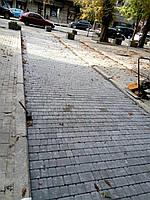 """Тротуарная плитка сухопресс  """"старый город"""" 40 мм. серая"""