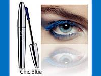 Синяя тушь для ресниц профессиональная Объем, удлинение + Зд эффект