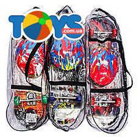 Скейт PVC колеса + подвеска, BT-YSB-0055