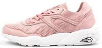 """Женские кроссовки Puma Trinomic """"Pink/White"""" (в стилe Пума Триномик)  розовые"""
