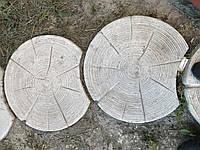 Тротуарная плитка Сруб. Пенек. Сруб дорожка диметр 60см толщина 6 см