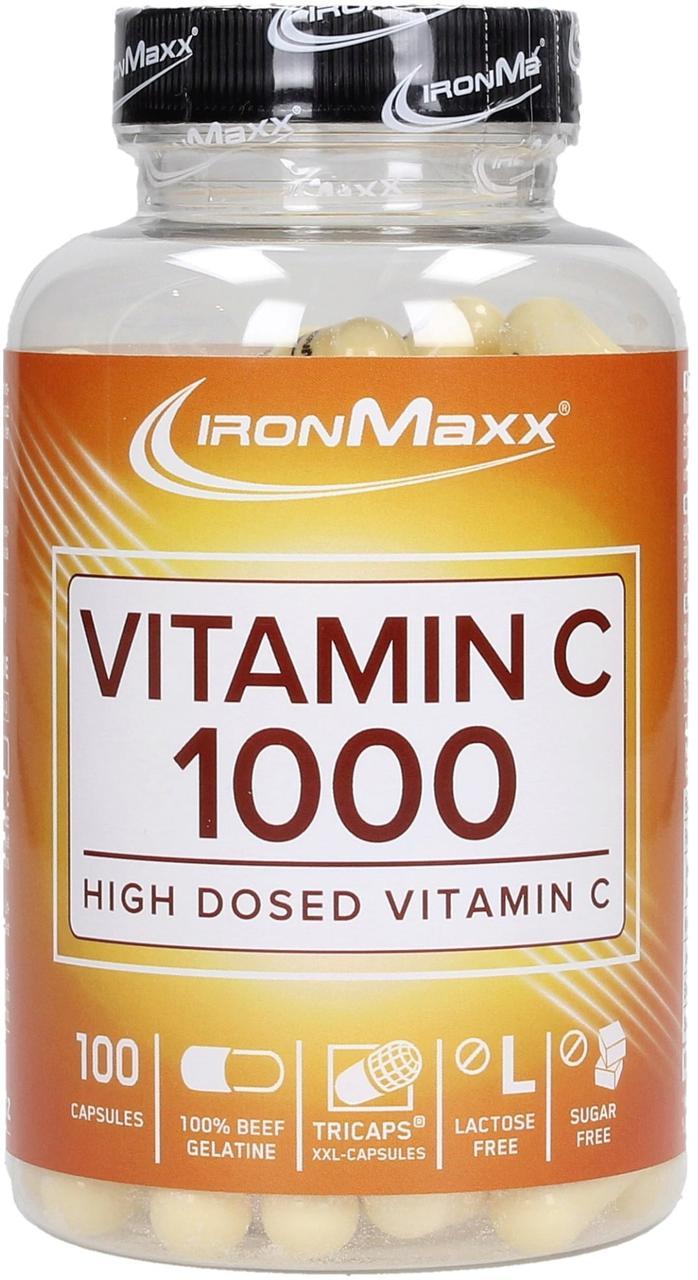 Витамины IronMaxx Vitamin C 1000 100 caps