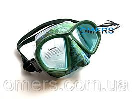 Маска Bs Diver COVERT Green для підводного полювання