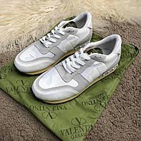 Кроссовки мужские Valentino Rockrunner 18570 белые, фото 1