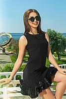 Коктейльное платье черного цвета, фото 1