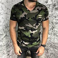 Футболка мужская Valentino Army Star Camo 18560 камуфляжная