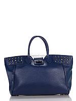 Кожаная Деловая сумка 18947_blue Синий