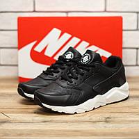 Кроссовки мужские Nike Huarache 10941 найк хуарачи черно-белые