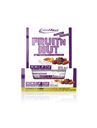 Протеїнові батончики IronMaxx Fruit'n Nut 18х40 g