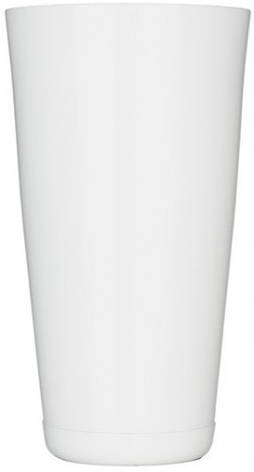 """Шейкер """"Бостон"""" нержавеющий круглый белого цвета H 175 мм (шт), фото 2"""