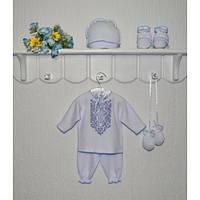 Комплект для новорожденных крестильный