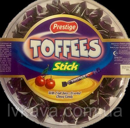 Жевательные конфеты Toffees Sticks вишня  Prestige   , 800 гр, фото 2