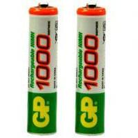 Аккумулятор ААА GP NiMH R03 1000mAh ( аккумуляторные батарейки )