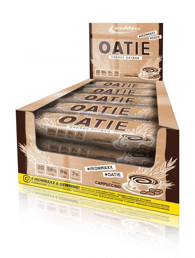 Протеиновые батончики IronMaxx Oatie Energy OatBar 20х100 g