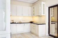 Кухня Угловая фасад рамочный МДФ, двухсторнняя матовая покраска