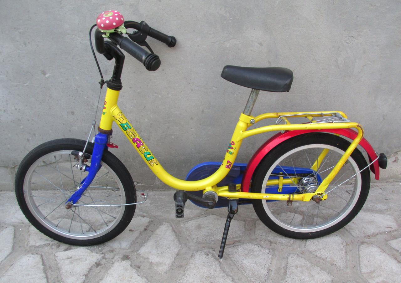 Велосипед детский Pegasus, 16'' на 4-6 лет, С Германии