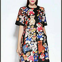 Платье -плащ Dolce&Gabbana мишки