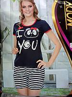 """Пижама футболка с шортиками """"Mody Lingerie"""""""