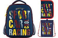 Набор школьный Kite(Рюкзак+сумка+пенал) Car racing K18-531M-1