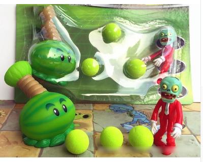 Игрушка Растения против зомби Арбуз Фирменная упаковка Plants vs zombies