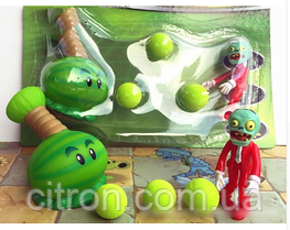 Іграшка Рослини проти зомбі Кавун Фірмова упаковка Plants vs zombies