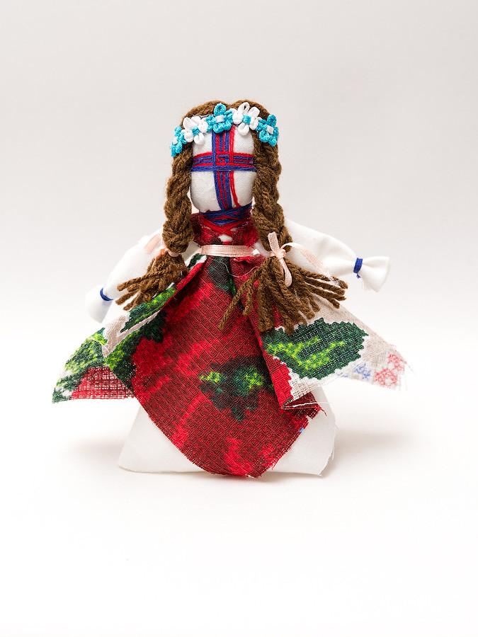 Кукла-Мотанки подвеска мини