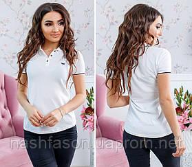 Жіноча футболка поло, 4433