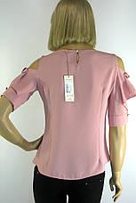 Нарядна блузка з відкритими плечами Miss Pois, фото 3