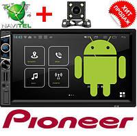 "Автомагнитола 2DIN Pioneer FY6516B Android 6, 3USB/Wi-fi/GPS/BT/7"", фото 1"