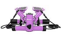 Степпер Hop-Sport HS-30S viol , универсальный тренажер