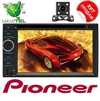 2din Автомагнитола Pioneer FY6116B DVD,GPS, WiFi + 4Ядра +Android  6 + КАМЕРА