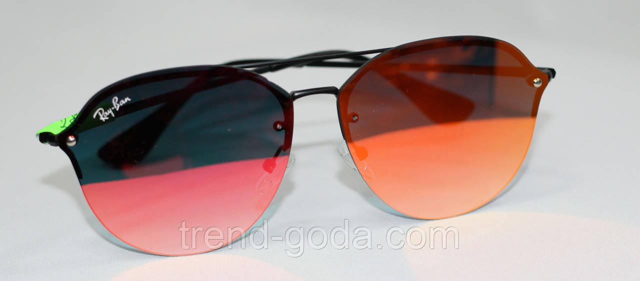Очки солнцезащитные, хамелеон, металлическая оправа