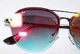 Очки солнцезащитные, хамелеон, металлическая оправа, фото 5