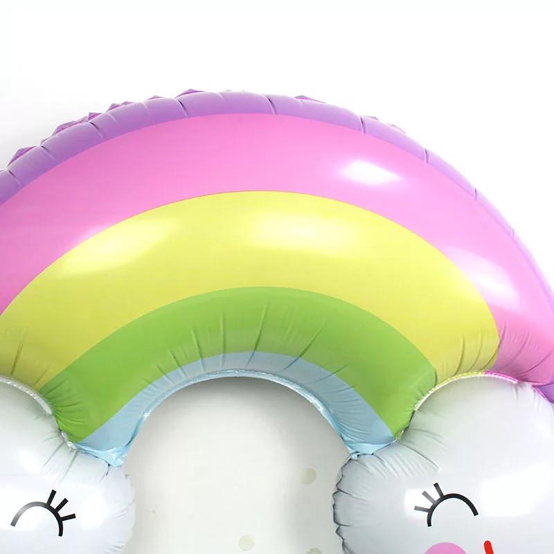 Веселка фольга 91 × 58 див. Кулька з подвійною посмішкою