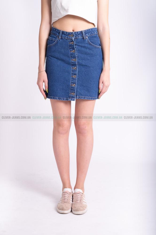 9dade6d65f5 Женская джинсовая юбка ITS BASIK - Clever Jeans - мы знаем об одежде всё в  Киеве