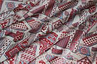 Ткань шелк армани геометрия, фото 1