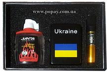 Подарочный набор 3в1 (Зажигалка, бензин, мундштук)