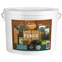 Пропитка для дерева Pinotex Fence Lasur (Пинотекс Фенс) рябина 10л