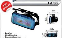 Фары дополнительные для автомобиля DLAA LA 699 RY, H3-12V-55W, размер 100*43 мм, автооптика, автомобильные фар
